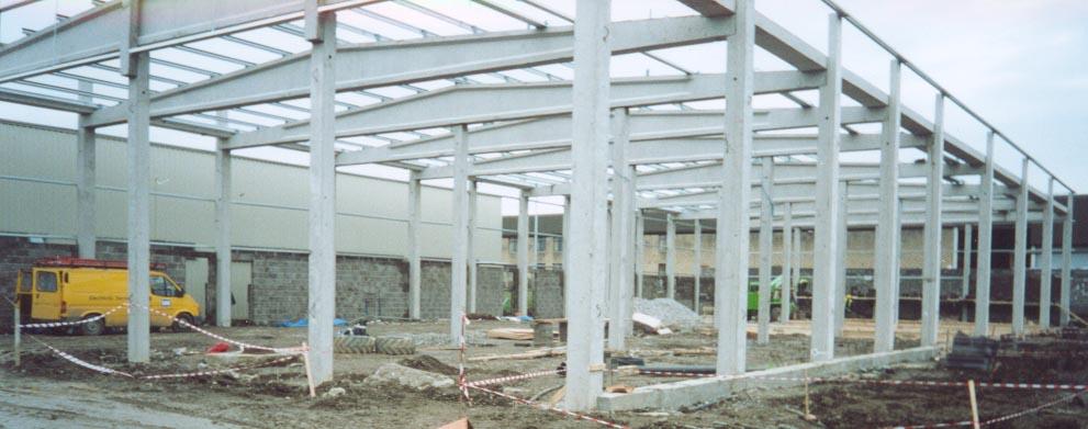 Precast Concrete Framing : Precast concrete frame buildings design reviews